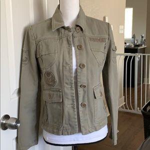 BCBG Max Azria Army-like jacket